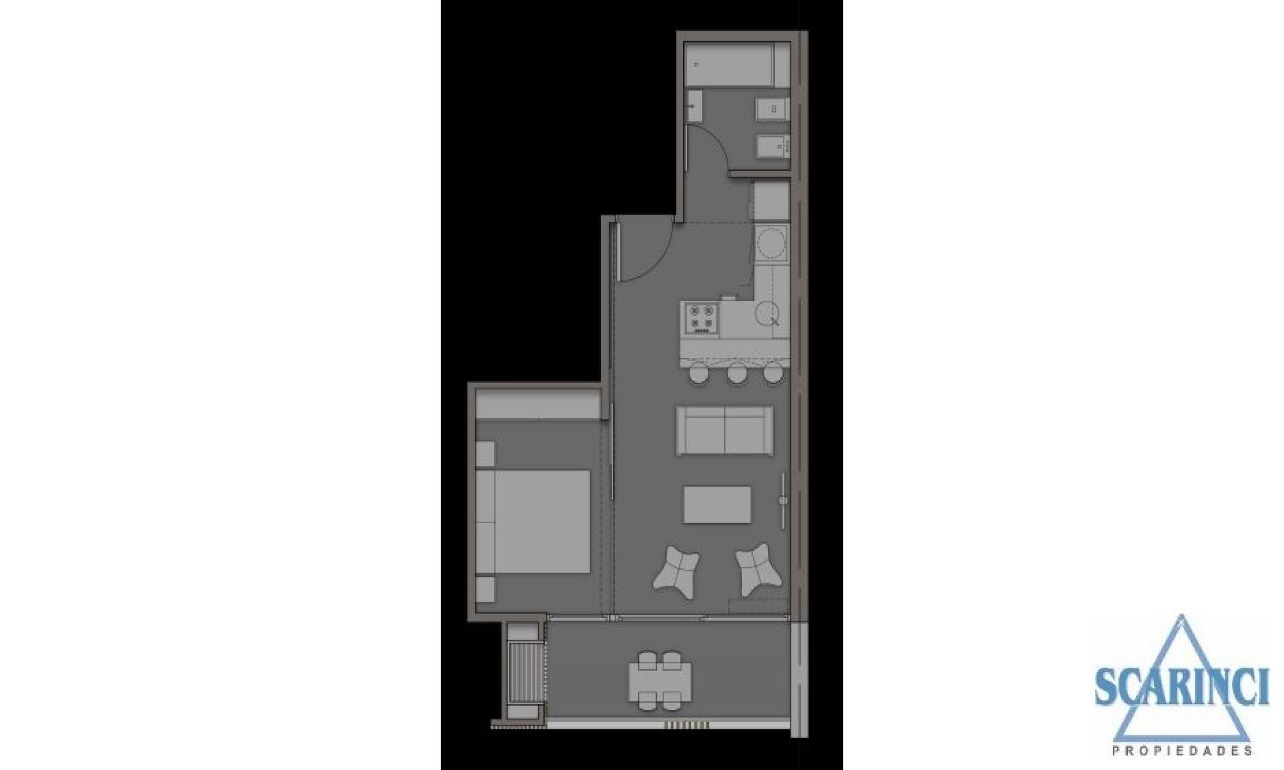 Uruguay 3400, Villa Saenz Peña, Buenos Aires, Argentina, 2 Habitaciones Habitaciones, 1 Habitación Habitaciones,1 BañoBathrooms,Departamento,Venta,Uruguay,1938