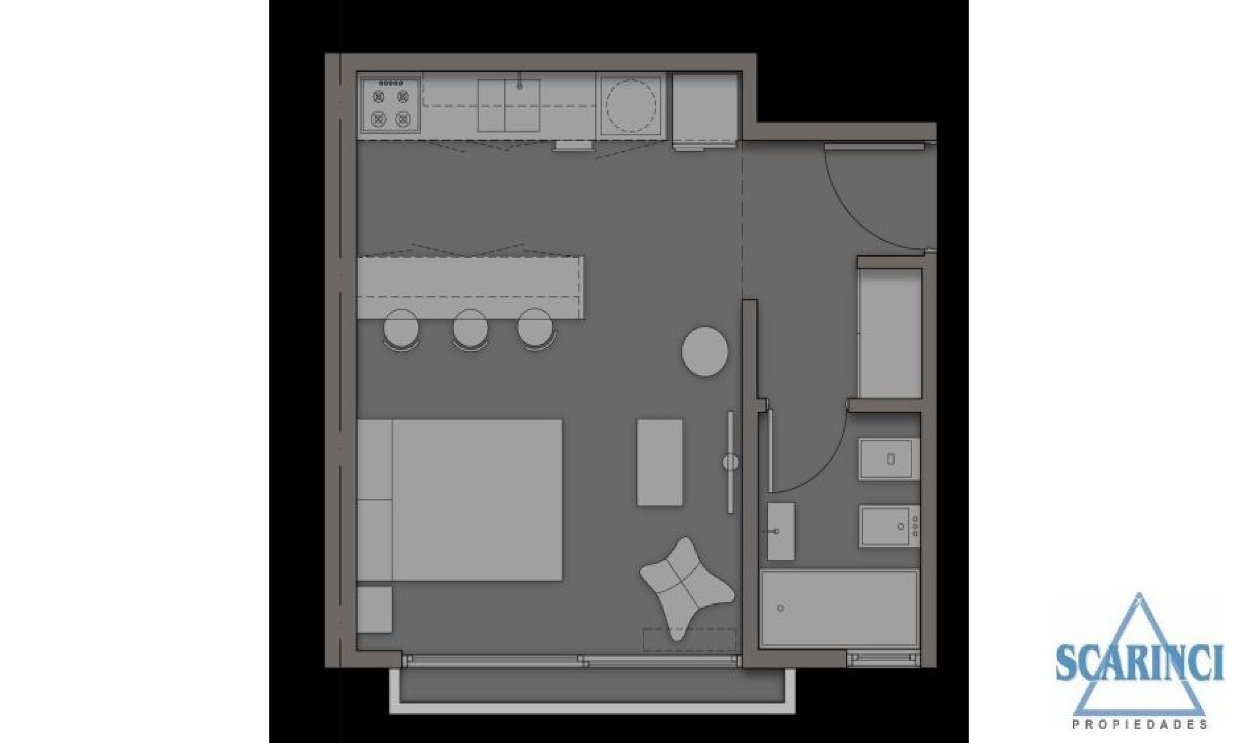 Uruguay 3400, Villa Saenz Peña, Buenos Aires, Argentina, 1 Dormitorio Habitaciones, ,1 BañoBathrooms,Departamento,Venta,Uruguay,1939