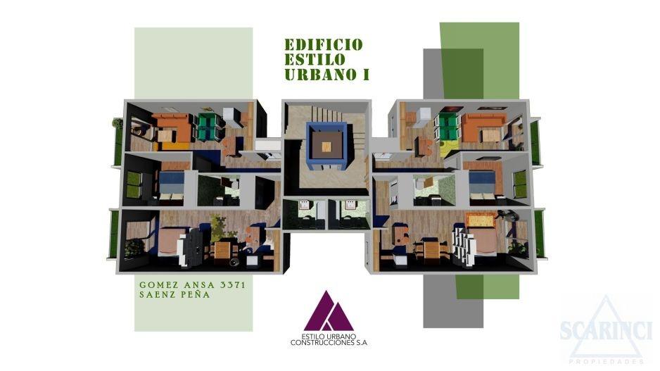 Gomez Ansa 3300, Villa Saenz Peña, Buenos Aires, Argentina, 1 Habitación Habitaciones,1 BañoBathrooms,Departamento,Venta,Gomez Ansa,1574